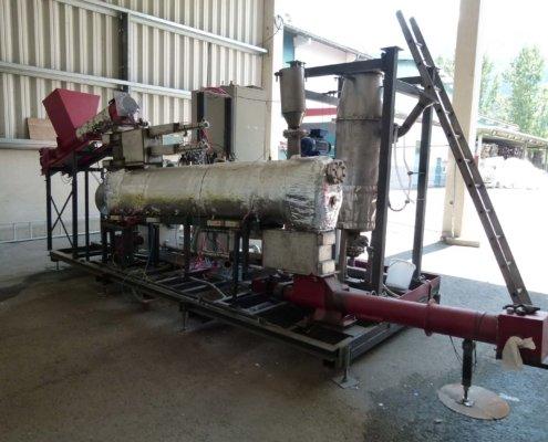 Pilotanlage. R-Power - Umwelttechnik schafft Zukunft. R-Power ist ein Vorarlberger Umweltdienstleister. Anlagenbau, Forschung und Beratung für Recyclingunternehmen, die Recyclingbranche und industrielle Abfallwirtschaft.